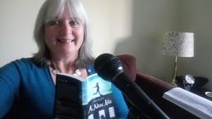Janet Wilson recording A New Me for Dernier Publishing