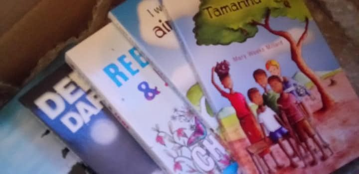 Selection of books from Dernier Publishing
