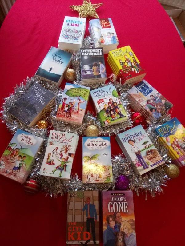 Christmas tree of Christian children's books