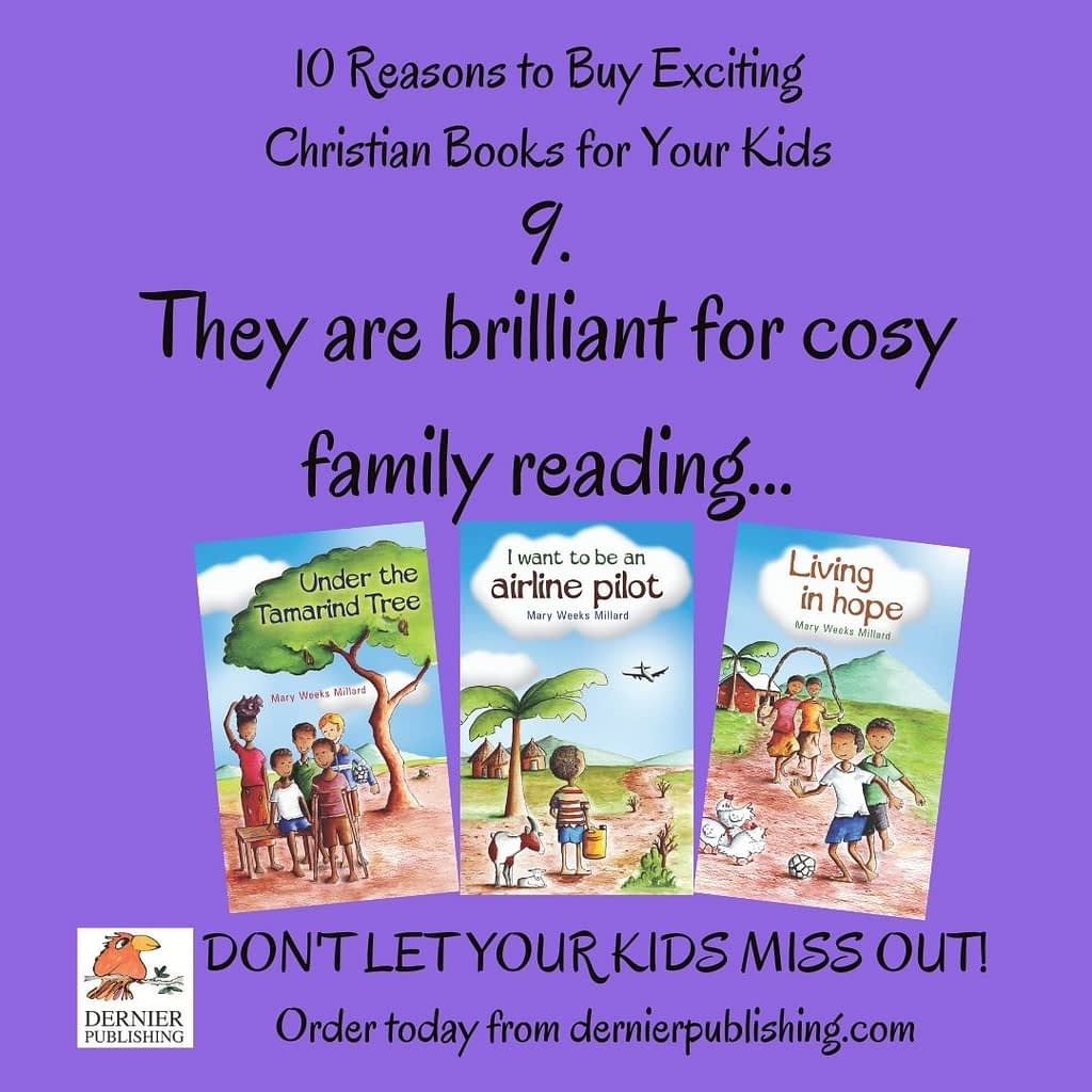 They are brilliant for cosy family reading