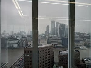 View from HarperCollins London offices