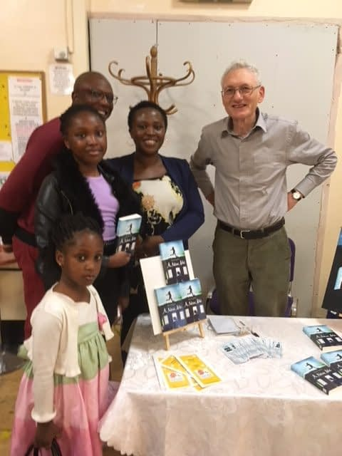 Book launch of Christian book for young people