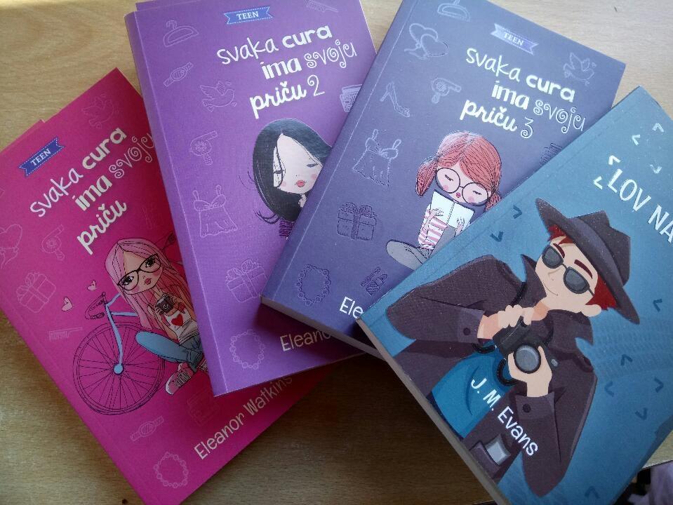 Dernier books translated into Croatian