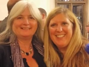 Janet with Joanna from Prison Fellowship
