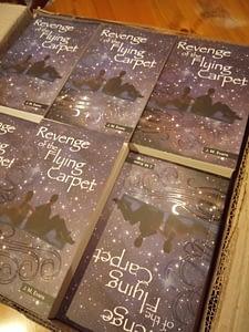 Revenge of the Flying Carpet Christian book for 10-14s