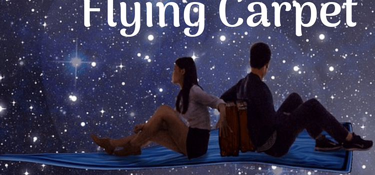 audio cover Revenge of the Flying Carpet