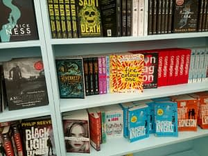 Rebecca and Jade: Choices in the Hay Festival Bookshop